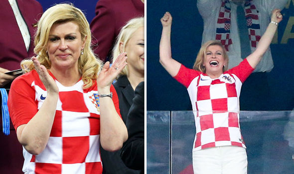 How Croatias president won hearts across the globe in World Cup final defeat to France