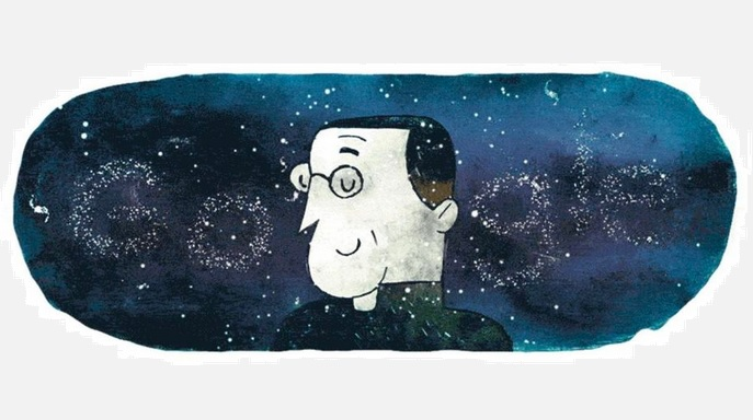 Google Doodle honors physicist Georges Lemaitres 124th birthday
