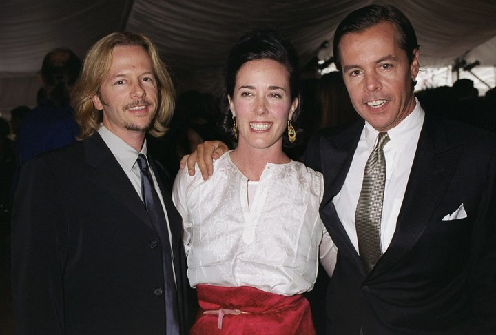 David Spade Gets Emotional Remembering Sister-In-Law Kate Spade