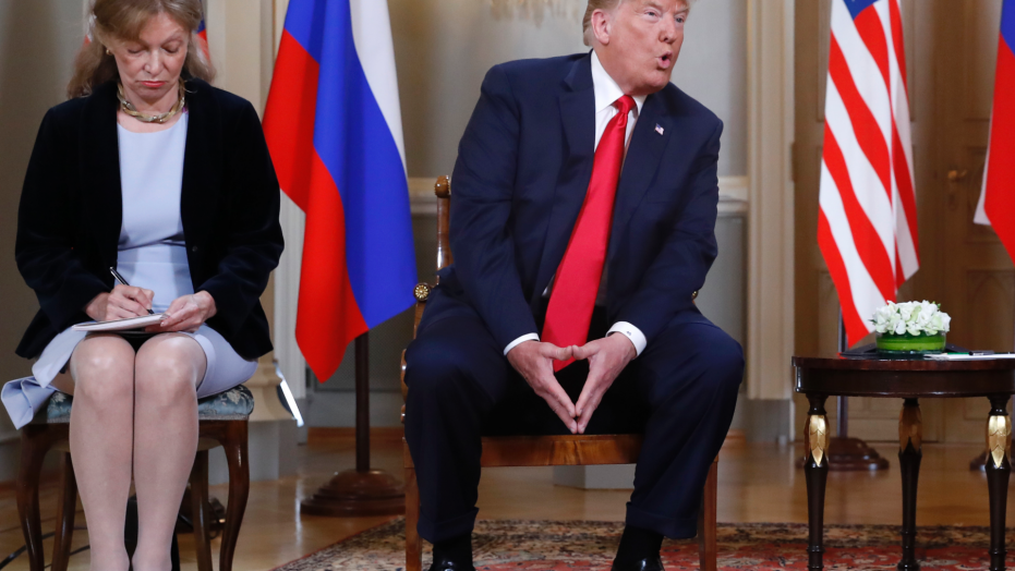 The Latest: Putin says US-Russia summit was successful