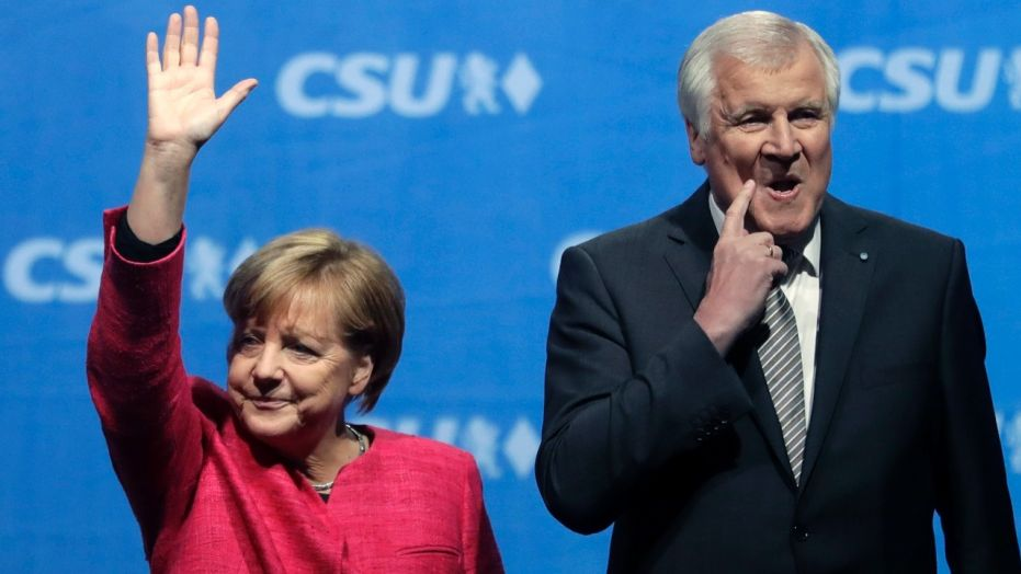 Key Merkel ally offers to resign over migration policy
