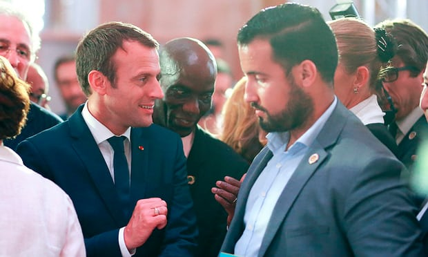 Macron under pressure to say why aides brutality went unreported