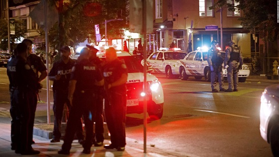 At least 14 people shot in Toronto and shooter is dead, police say