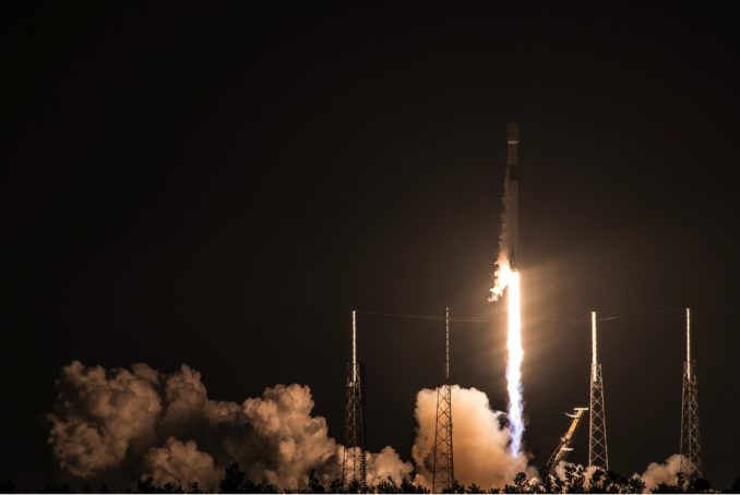SpaceX delivers for Telesat with successful early morning launch