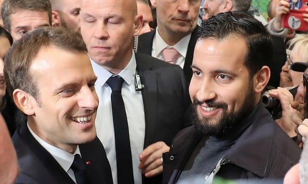 Emmanuel Macron says he takes the blame over Benalla scandal