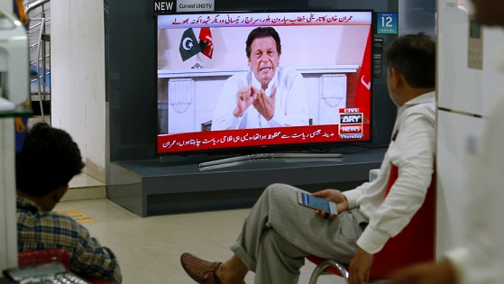 Khan warmed up to be Pakistan PM by being cricket captain