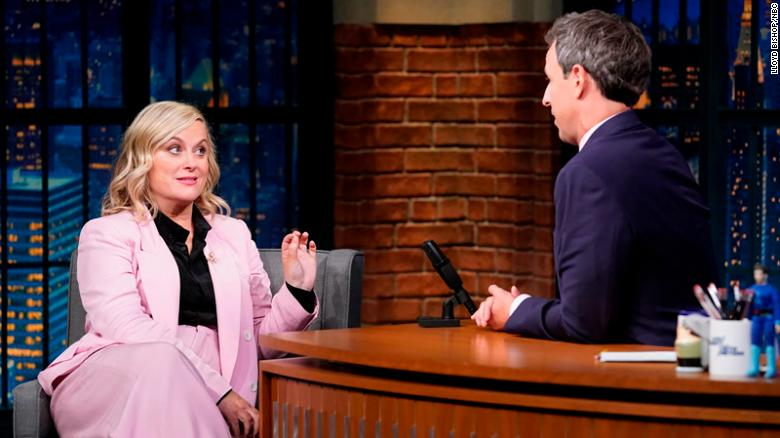 Amy Poehler and Seth Meyers reunite to take on James Comey