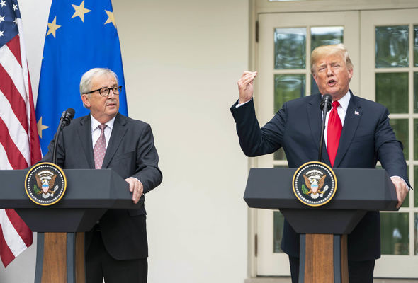 Macron RAMPS up pressure on Juncker to reveal MORE about Trump trade deal