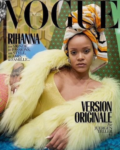 Vogues Rihanna cover photographer accused of cultural appropriation