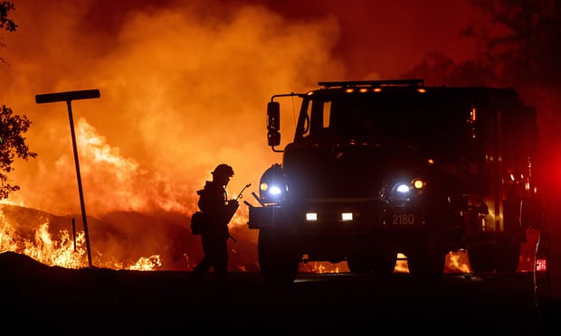 A fire tornado: death toll in massive California blaze rises to five