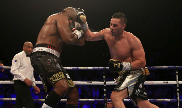 Dillian Whyte and Joseph Parker should have been a DRAW
