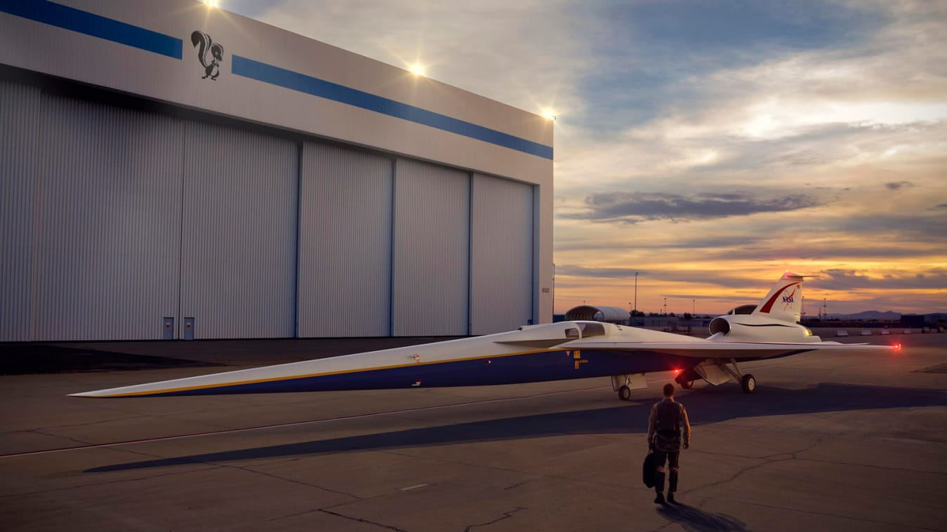 NASA to test quiet supersonic flights