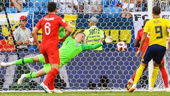 Jordan Pickford: I wasnt born for Englands last World Cup semifinal