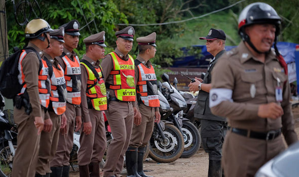 Thailand cave rescue: EIGHTH BOY carried out on stretcher as operation HALTED - 4 inside