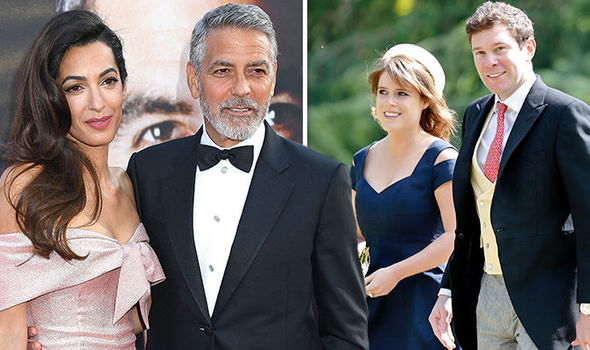 Amal Clooney: George Clooneys connection to Princess Eugenie REVEALED ahead of wedding