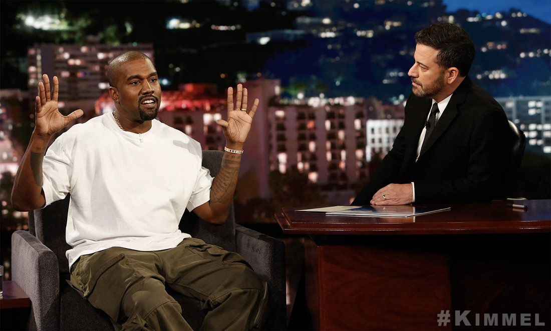 Kanye West Jokes He Worried About Kim Kardashian Around Trump: Hes a Player