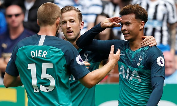 Dele Alli gets Tottenham off to a winning start against Newcastle