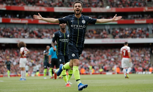 Bernardo Silva sets seal on dominant Manchester City win over Arsenal