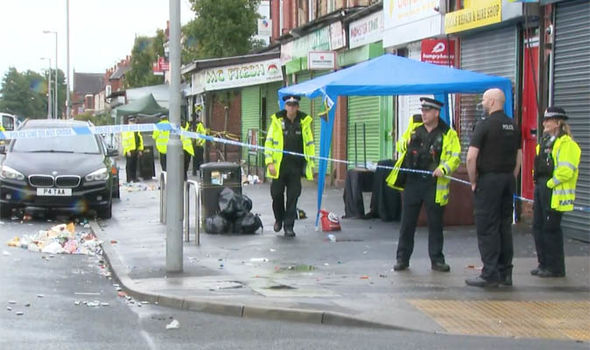 Manchester shooting: Ten shot in Moss Side as gunman goes on rampage after community day