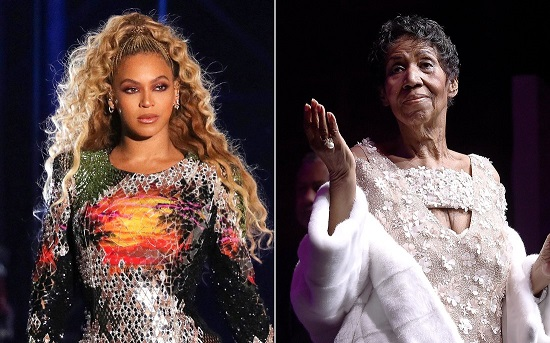 Beyoncé dedicates Detroit concert to Aretha Franklin: We love you
