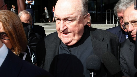 Australia archbishop gets house detention for abuse cover-up