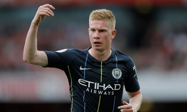 Manchester City's Kevin De Bruyne could miss three months with injury