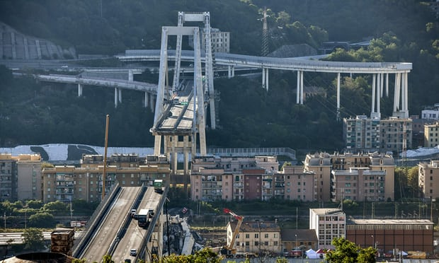 Italy bridge collapse: 39 dead as minister calls for resignations