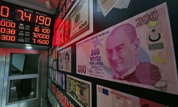Turkish lira rallies as Qatar makes $15bn loan pledge