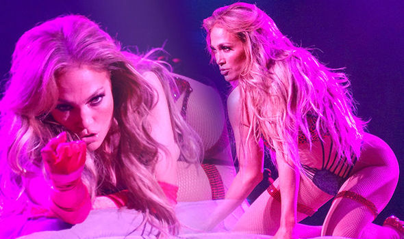 Jennifer Lopez, 49, writhes around in sequin stockings and lingerie in JAW-DROPPING scenes