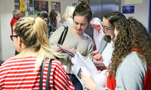 A-levels: proportion of students in England getting C or above falls