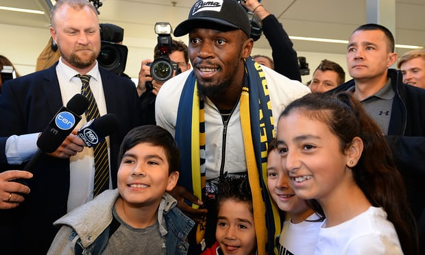 This is for real: Usain Bolt arrives in Sydney to chase football dream