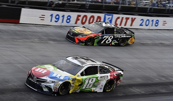 NASCAR Cup champion Truex too nice in Bristol mayhem with Busch