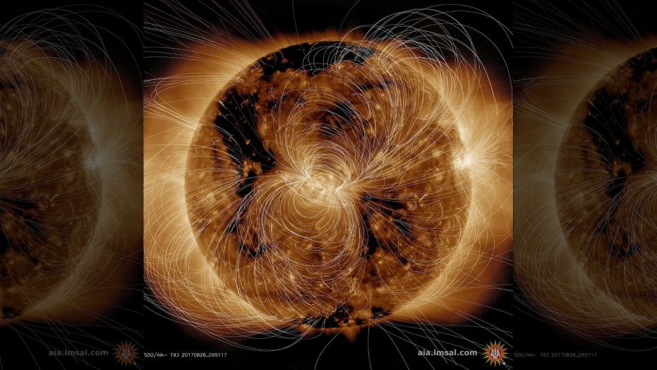 NASA shows incredible image of the Sun exploding
