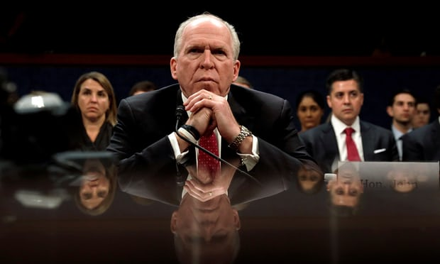 Trump dares worst CIA director Brennan to sue as security row deepens