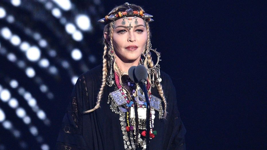 Madonna slammed online for making Aretha Franklin tribute all about her at MTV VMAs