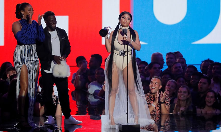 MTV VMAs: Camila Cabello wins big while Madonna pays tribute to Aretha Franklin