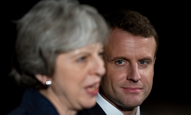 May prepares for talks with Macron that could make or break Brexit plan