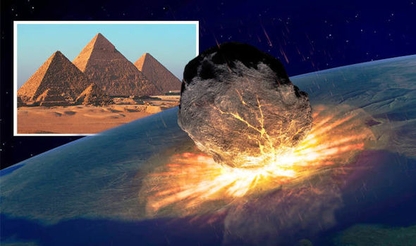 NASA asteroid WARNING: Asteroid bigger than Pyramids to skim Earth NEXT WEEK
