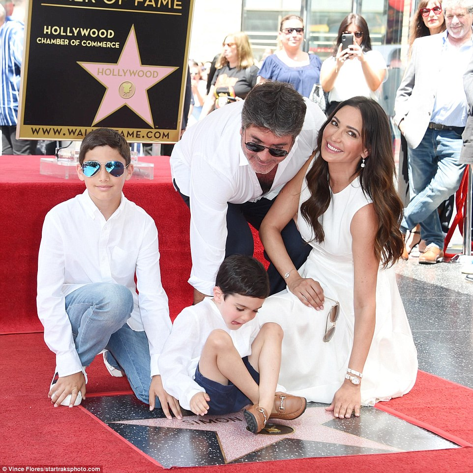 Simon Cowell receives star on Hollywood Walk of Fame