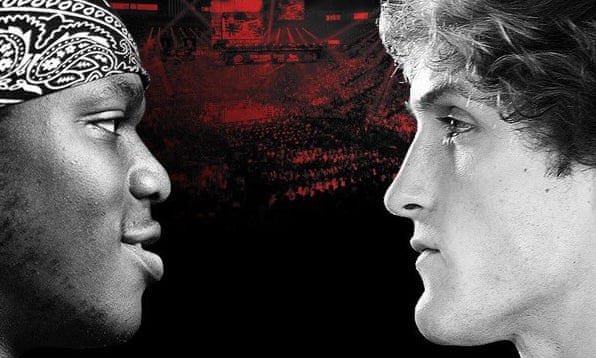 Logan Paul and KSI  square up for YouTube boxing match