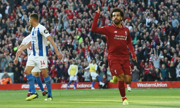 Mohamed Salah strikes again as Liverpool edge past Brighton