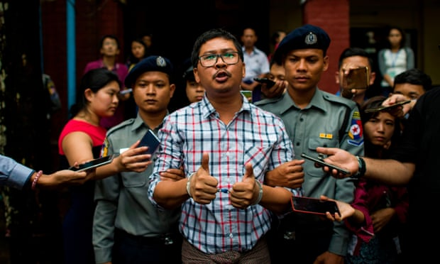 Myanmar court to deliver verdicts on jailed Reuters reporters