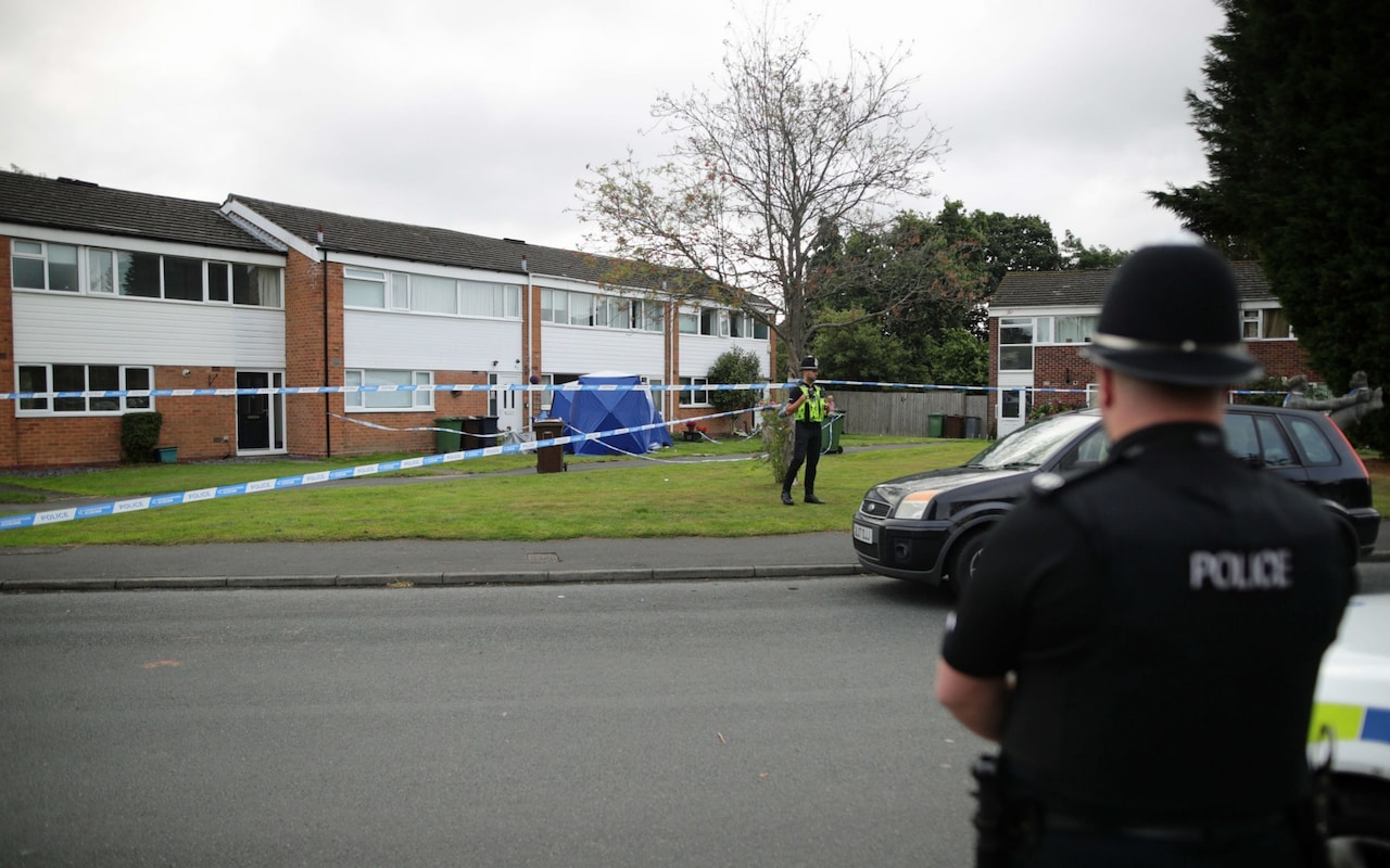 Murder hunt after mother and daughter killed in Solihull