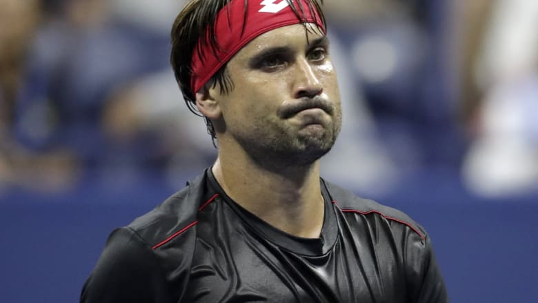 US Open: Ferrer retires in final grand slam match, Halep the first top seed to lose in first round