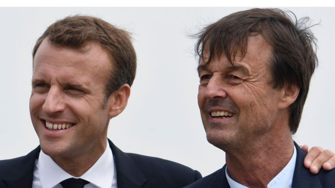 French minister Nicolas Hulot resigns on live radio in frustration