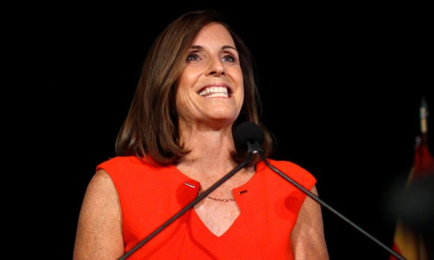 Martha McSally beats Joe Arpaio and Kelli Ward to win Arizona Republican primary