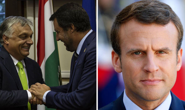 Macrons new ENEMIES: Salvini issues ULTIMATUM and demands Macron open France-Italy border