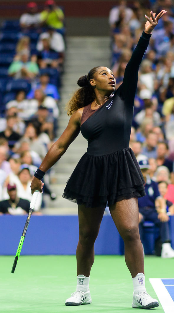 Serena Williams hits back at catsuit criticism by playing tennis in this outrageous outfit