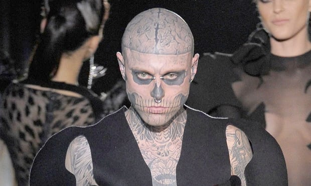 Zombie Boy Rick Genest, tattooed muse to Lady Gaga, dies aged 32