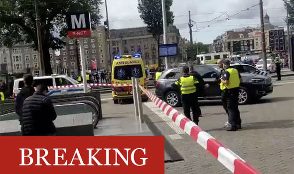 Amsterdam stabbing: Police shoot suspect after stabbing at main tourist area